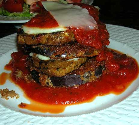 Eggplant-stacks