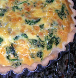 Ham,-Swiss-Spinach-Quiche