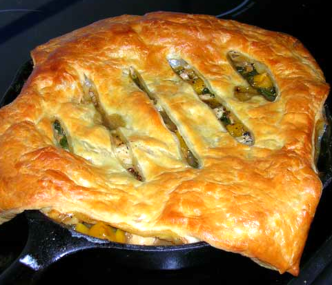 Skillet-Chicken-Pot-Pie-with-Butternut-Squash-and-Kale