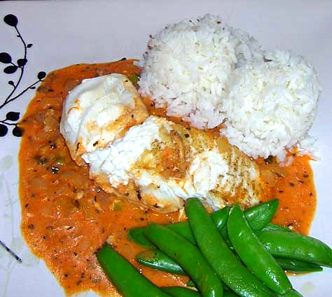 Halibut-with-Thai-Coconut-Red-Curry-Sauce