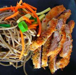 Soba Noodles and Katsu