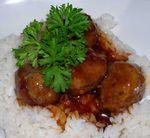 Spicy-Apple-Glazed-Meatballs