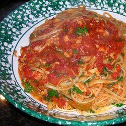 Pasta-w-Red-Clam-Sauce