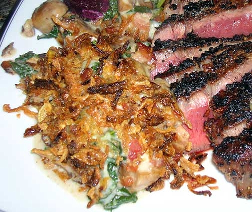 Creamy-Kale-Mushroom-Bacon-Casserole