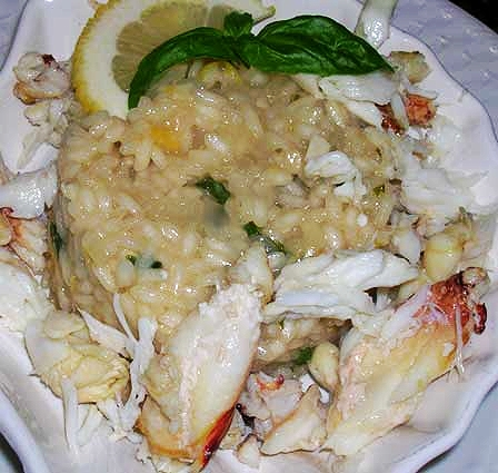Lemon-Basil-Risotto-with-Dungeness-Crab
