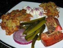 Potato-Latkes-w-Smoked-Salmon