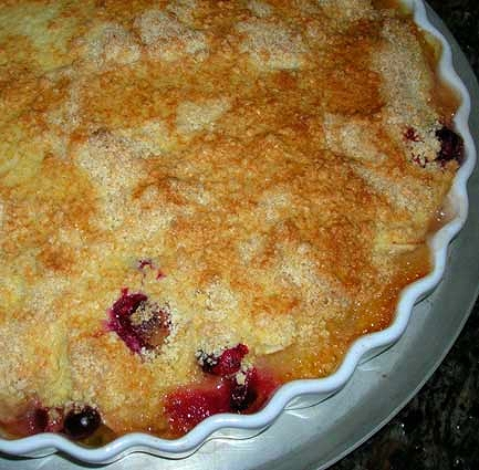 Apple-Cranberry-Cobbler