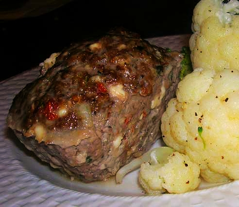 Meatloaf-w-Mushrooms