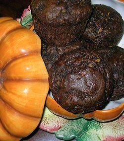 Double-Choco-Zucchini-Spice-Muffins