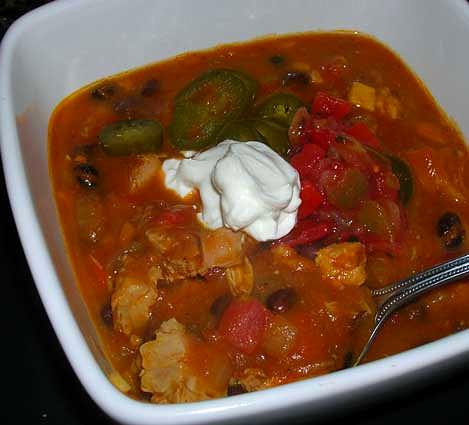 Pumpkin-Black-Bean-Turkey-Chili