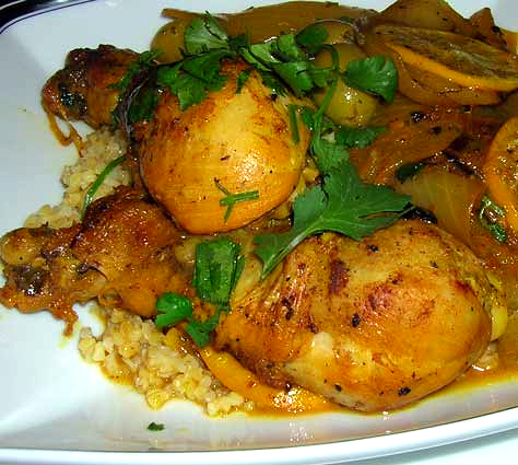 Chicken-Onion-Tagine
