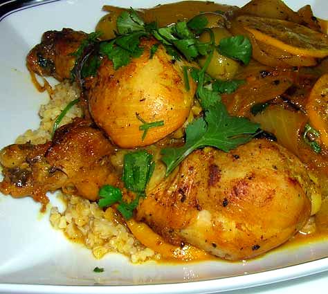 Chicken-Onion-Tagine