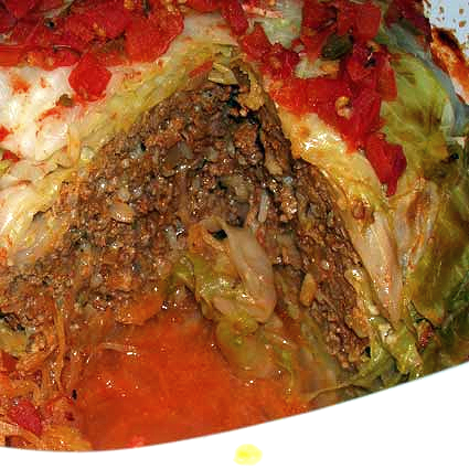 Whole Stuffed Cabbage by JBug's Kitchen Antics, a remake on a recipe ...