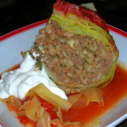 Stuffed Whole Cabbage Recipes — Dishmaps