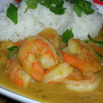 Thai-Green-Curry-Shrimp