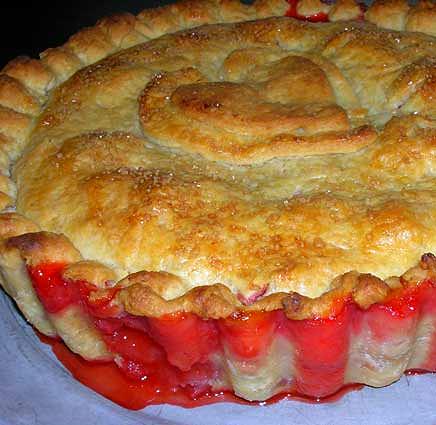 Rhubarb-Strawberry-Pie