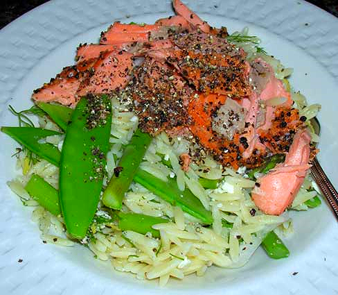Asparagus,-Snow-Pea-Orzo-Salad