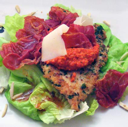 Chicken-Cutlets-with-Romesco