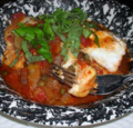 Halibut-Poached-in-Chunky--Tomato-Caper-Sauce