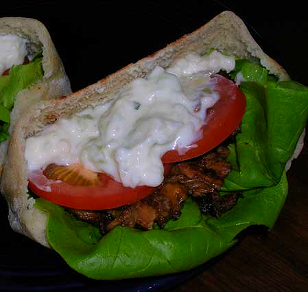 Lamb-in-Pita-with-Tzatziki