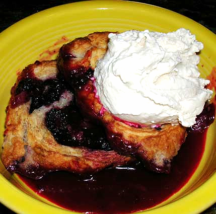 Blackberry-Roly-Poly-Cobbler-w-Sour-Cream-Icecream