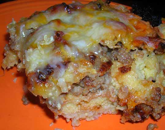 Sausage-Hash-Brown-Casserole
