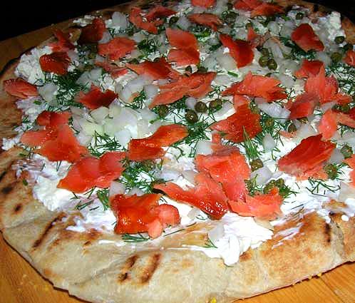 Smoked-Salmon-Pizza